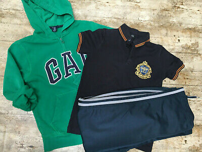 BOYS CLOTHING BUNDLE age 8 to 9 years GAP Hoodie Track Bottoms Top River Island
