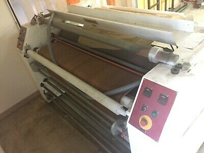 "Astex 7960T 60"" Wide Rotary Dye-Sublimation Heat Press w/ Sheet Feed Input Table"