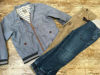 BOYS CLOTHING BUNDLE age 5 To 6 years Chinos Jeans Trousers Coat NEXT Warm