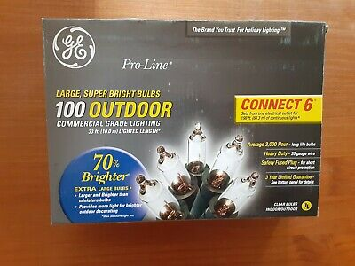 GE Pro-line 150 commercial grade icicle-style lights upc 087449806059