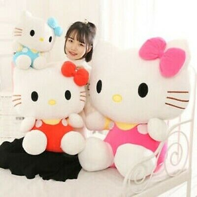"""12/"""" Cute Hello Kitty Pink Love Giant Huge Stuffed Plush Animal Toys Doll Gifts"""