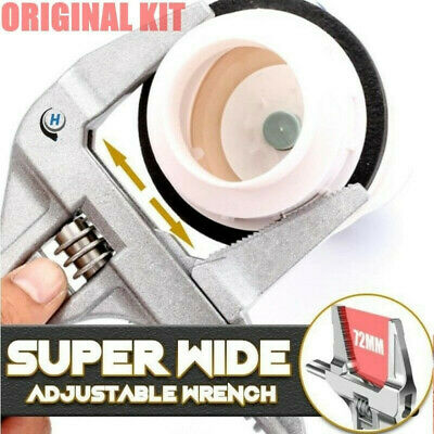 Super Wide Adjustable Wrench Multi-function Large Opening Wrench Adjustable A1S8