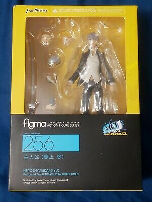Max Factory figma 256 Yu Narukami Persona 4 Arena Ultimax from japan F//S used