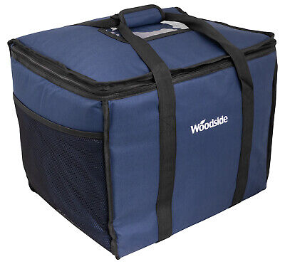 Woodside Extra Large 50L Insulated Cooler Bag For Hot/Cold Food & Drink Delivery