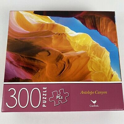 Colorful~Colors~Challenging New 300 Piece Jigsaw Puzzle Antelope Canyon