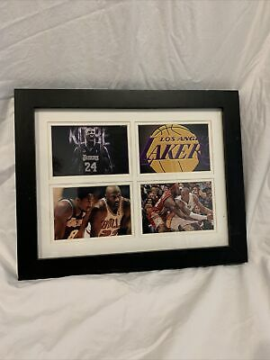 Framed Kobe Bryant Tribute Collage (W/ Michael Jordan And Lebron James) 15*12 In