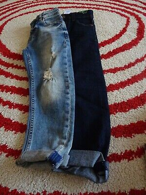 2 pairs Boys Next  blue jeans age 6  1 BNWOT 1 used