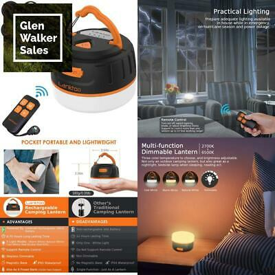 Rechargeable Camping Lights for Tents and 15000mAh lanktoo Camping Lantern