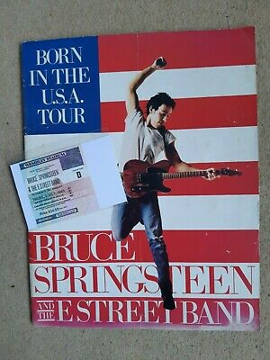 Springsteen Roxy West Hollywood 1975 Concert Poster Framed Print in Two Sizes