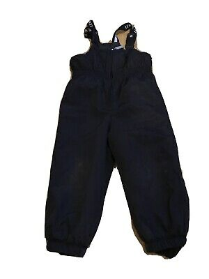 Boys Blue outside play Trousers Lenne 2-3 years a bit worn on the knees J304