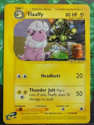 Flaaffy x1 77//165 Pokemon Expedition Base Set Uncommon Moderate Play Non-Holo