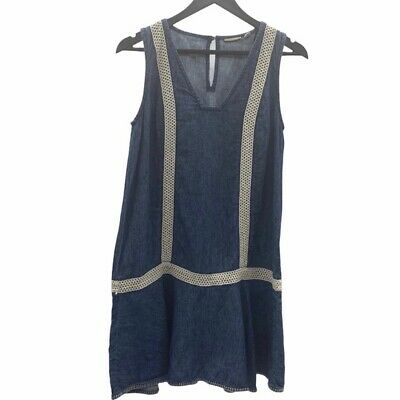 Details about  /ANTHROPOLOGIE Holding Horses Lorna Crochet Tank Shirt NwT size 8 10