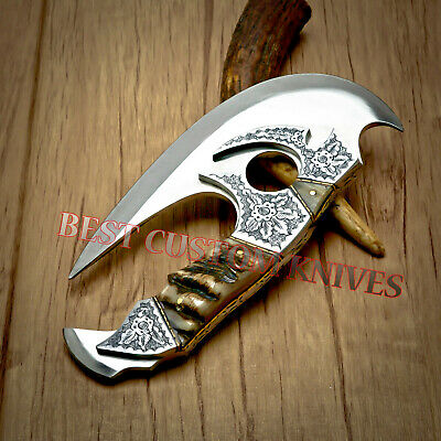 CHOPPER AWESOME DESIGN CUSTOM MADE D2 TOOL STEEL BLADE CLEAVER TACTICAL