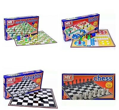 Full Size Traditional Classic Family Board Games Kids Indoor Fun Toy Games