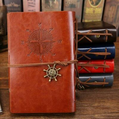 Leather Notebook Planner Organizer Diary Binder Book Filofax Journal Sketchbook