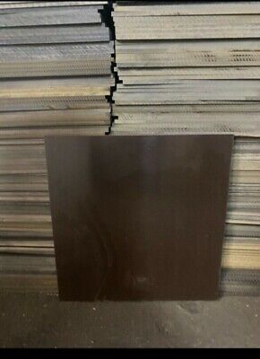 200MM X 150MM 1mm PHENOLIC Paper based SHEET TUFNOL SUBSTITUTE
