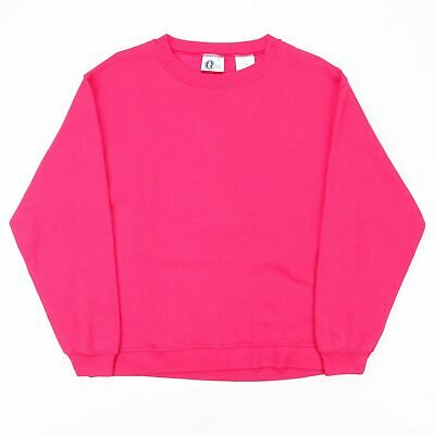 ARIZONA JEANS COMPANY  Pink 00s Crew Neck Sweatshirt Girls L