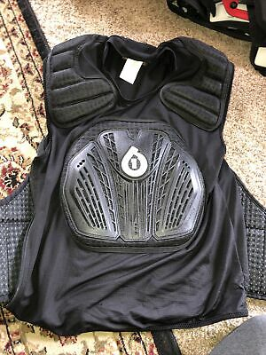 Chest Protector BMX Moto MTB 661 NWT Six Six One Youth Core Saver One Size Adj