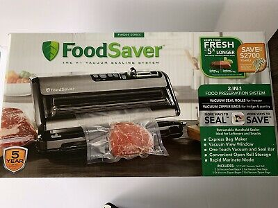 FoodSaver FM5200 Series 2-in-1 Vacuum Sealing System for Food Preservation *NEW*