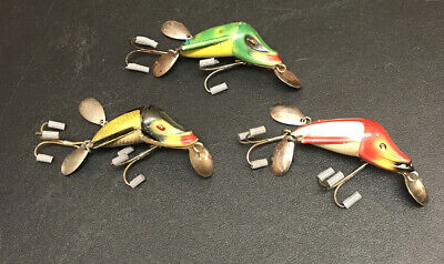 VINTAGE JAMISON TACKLE SHANNON TWIN SPINNER SPIN MAXI OR MIDGET LURE YOU CHOOSE