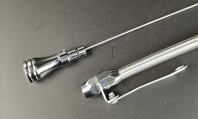 Engine Parts For SBC Stainless Flexible Engine Oil Dipstick 80 ...