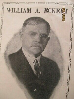 Old Usa Politics ; Original 1931 Comptroller Election  Pamphlet Republican Party