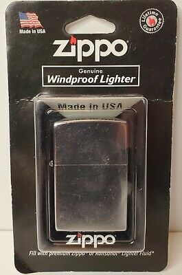 Zippo Windproof Street Chrome Lighter, # 207, New In Package