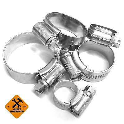 Roose Motorsport JCS Hi-Grip Stainless Steel Silicone Hose Clamp Hose Clip