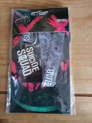 HARLEY QUINN LANYARD MOBILE PIN ID HOLDER BIRDS OF PREY DC COMICS SUICIDE SQUAD