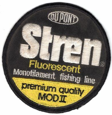 Patch DuPont Brand PRIME PLUS Fishing Line Angler Fish Equipment 00WH