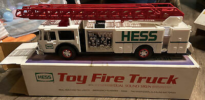 1989 Hess Toy Fire Truck New In Original Box