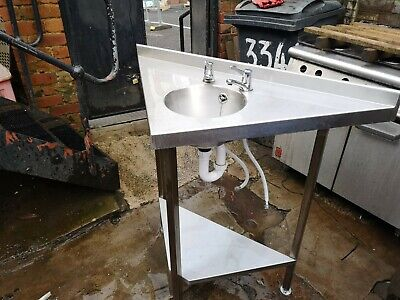 Commercial small catering hand wash sink.