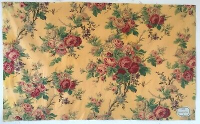 Beautiful 19th C. French Printed Cotton Floral Fabric  (2779)