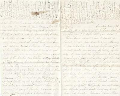 1882 4 Page Handwritten Letter (Requires Additional Research)