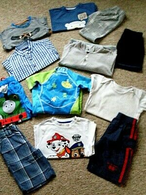 BOYS CLOTHES AGE: 18 months to 2 years, ( LOVELY SUMMER BUNDLE) 10 ITEMS. GCC