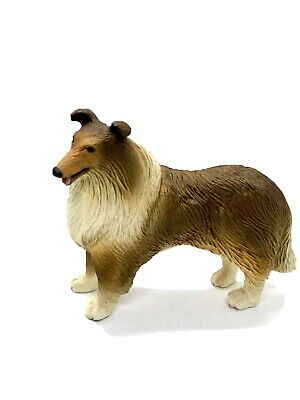 "Brand New Solid Classic Canine Collection Rough Collie Figurine 31/2""x3"""