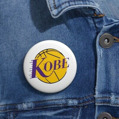 Custom Pin Buttons Kobe Bryant Lakers button, Kobe, Lakers, Los Angeles