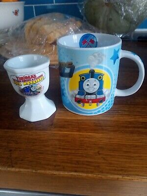 Thomas the Tank Engine & Friends Mug & Egg Cup Good morning!