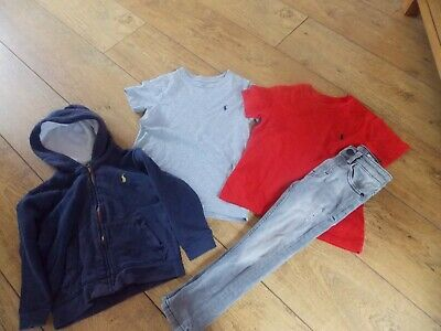Boys Ralph Lauren T-Shirts Hoodie Next Jeans Age 3 Years