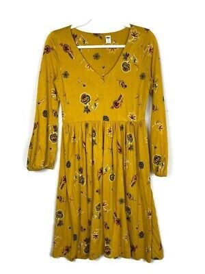 Long Sleeve lined Dresses 2XL,LG,SM,Old Navy Multi Color 100/% polyester