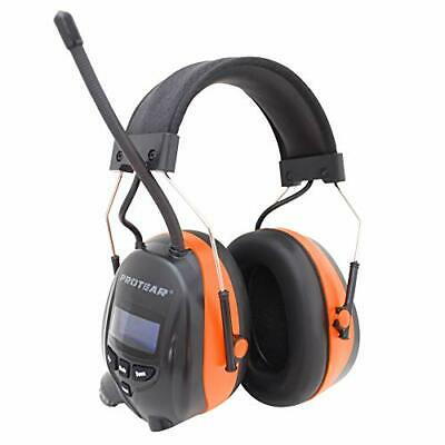 Protear Bluetooth Ear Defenders with DAB+/FM Radio, Noise Cancelling Wireless