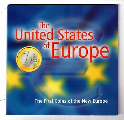 The United States Of Europe 12 Coins (Uncir.)!! #I1949