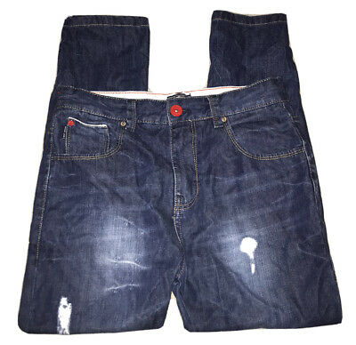 Boys Dark Blue Denim Jeans Age 14 Years Next