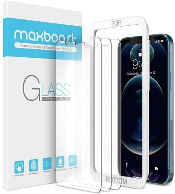 Maxboost Screen Protector Designed for iPhone 12 Protector, 12...