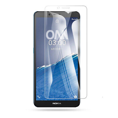 2PCS 9H HD Tempered Glass Screen Protector Guard Film For Nokia C3