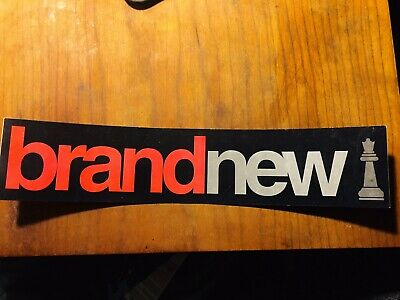 Brand New Your Favorite Weapon Sticker Jesse Lacey