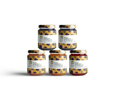 Papy's Forest & Wildflower Berry-Honey 350 G  100% Natural Organic + Vitamin C