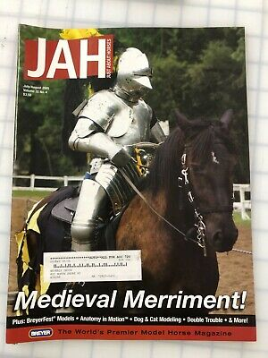 Just About Horses Vol. 32 #4 Model Horse Magazine July/Aug. 2005 Excellent