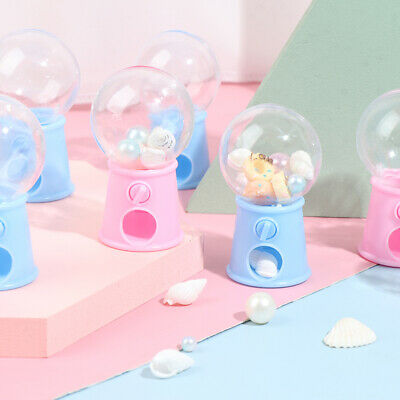 Mini Candy Machine Bubble Gumball Dispenser Coin Bank Kids Toy Chrismas Gift SR