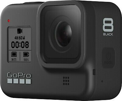GoPro HERO 8 Black 4k Action Cam - BARELY USED!! COMES WITH STRAP 9.5/10